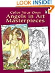 Color Your Own Angels in Art Masterpi...