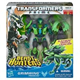 Grimwing Transformers Prime Beast Hunters #004 Voyager Class Action Figure