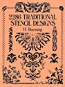 2,286 Traditional Stencil Designs (Dover Pictorial Archive Series)