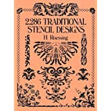 "2,286 Traditional Stencil Designs (Dover Pictorial Archives)von ""H. Roessing"""