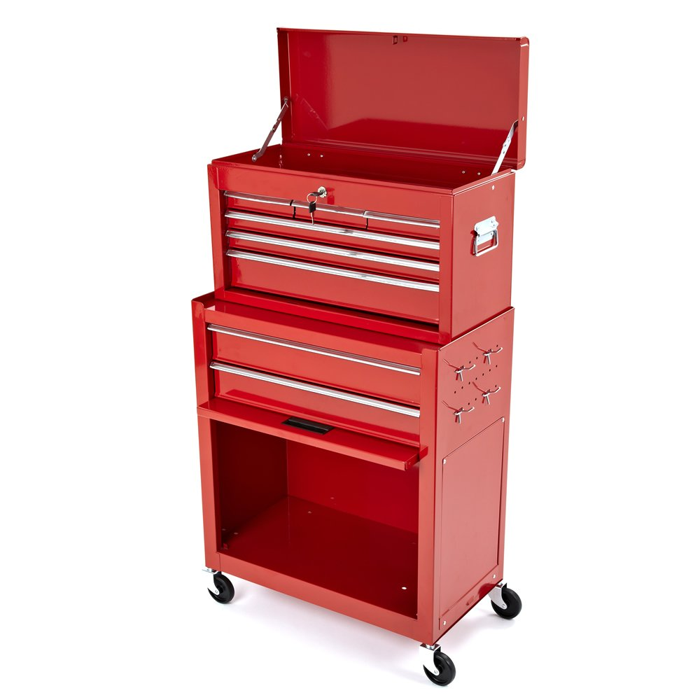 New tool top chest roller cabinet box rollcab toolbox for Roller sideboard