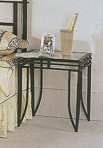 Amazon Com Modern Matrix Style Black Iron Wrought Metal