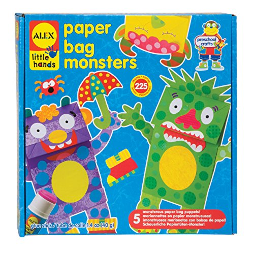 ALEX Toys Little Hands Paper Bag Monsters - 1