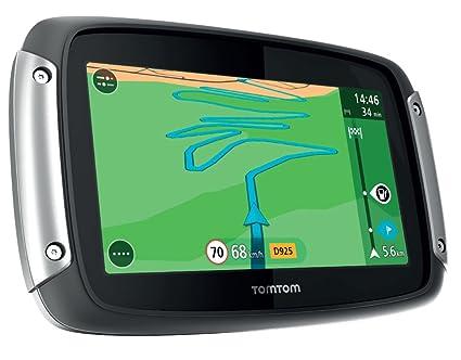 TomTom Rider 400 GPS Eléments Dédiés à la Navigation Embarquée Europe Fixe, 16:9 (Import Europe)