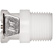 Posi-Link Acetal, Push-to-Connect Tube Fitting, Thread Socket (Non-Valved), NPT Male