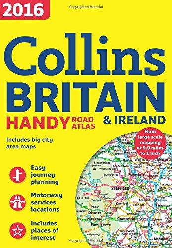 2016 Collins Handy Road Atlas Britain