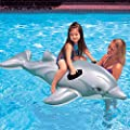 Intex Childrens Large Inflatable Ride On Lil Dolphin 1.75m Swimming Pool Fun Accessory