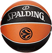 Spalding Basketball Euroleague Tf1000 Legacy 74-538z - Pelota de baloncesto ( cuero, oficial )