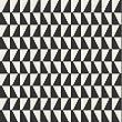 Scandinavian Designers 2742 Vlies-Tapete graphisches Trapez Arne Jacobsen Schwarz und Weiß