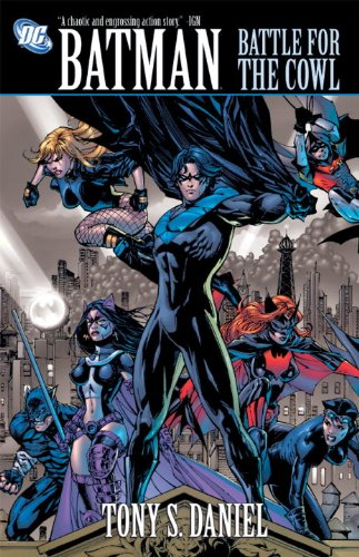 Batman Battle For The Cowl at Gotham City Store