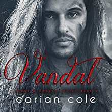 Vandal: Ashes & Embers, Book 2 Audiobook by Carian Cole Narrated by Joe Arden, Maxine Mitchell