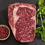 Wagyu Beef Rib Eye Steak - Marble Grade 8 - Whole, Cut To Order - 11 lbs cut to 1 1/2-inch steaks thumbnail