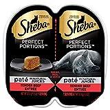 Sheba Premium Cat Food Perfect Portions Pate Tender Beef Entree - 2 CT