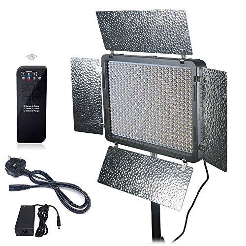 Mcoplus LED-520B Bi-colore LED 528PCS LED lampada 3500LM 3200K - 7500K colore...