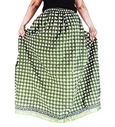 Aura Life Style Cotton Long Skirt