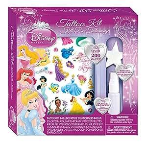Savvi Girls Disney Princess Tattoos Kit - 200 Pieces