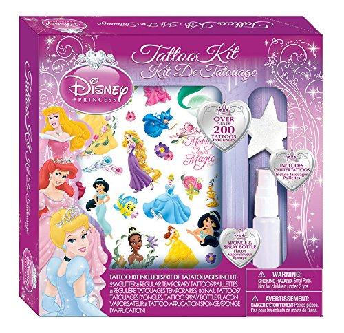 Savvi Girls Disney Princess Tattoos Kit - 200 Pieces - 1