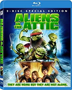 NEW Tisdale/richter/nealon/meadows - Aliens In The Attic (Blu-ray)