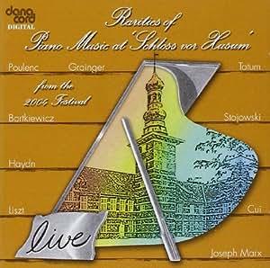 Rarities of Piano Music at Schools Vor Husum 2004