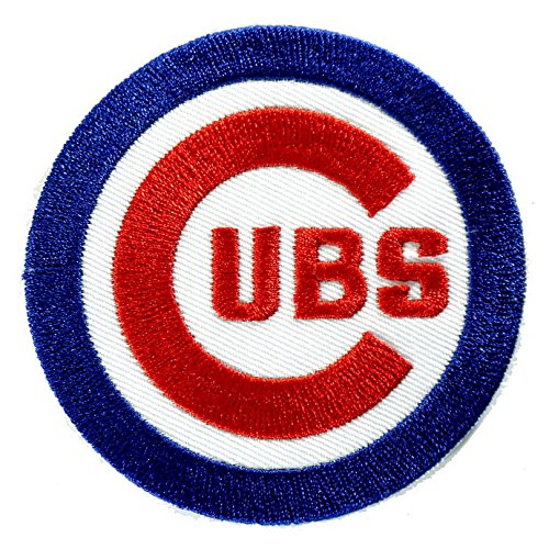 Chicago cubs mlb embroidered iron on patch sporting goods