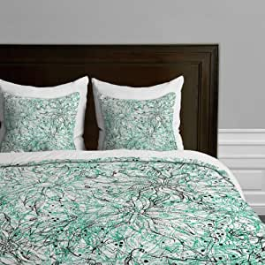 Buy deny designs lisa argyropoulos angelica aqua duvet cover king online at low prices in india - Angelica kitchen delivery ...