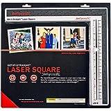 KellyCraft Get-It-Straight Laser Square Paper Craft Tool