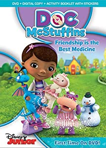 Doc Mcstuffins Friendship Is The Best Medicine Dvd Digital Copy With Gwp Stickers by Walt Disney Video