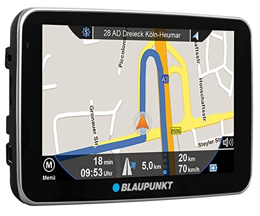 "Blaupunkt TravelPilot 51 EU 12,8cm (5"") incl. TMC TomTom Maps incl. Rußland"