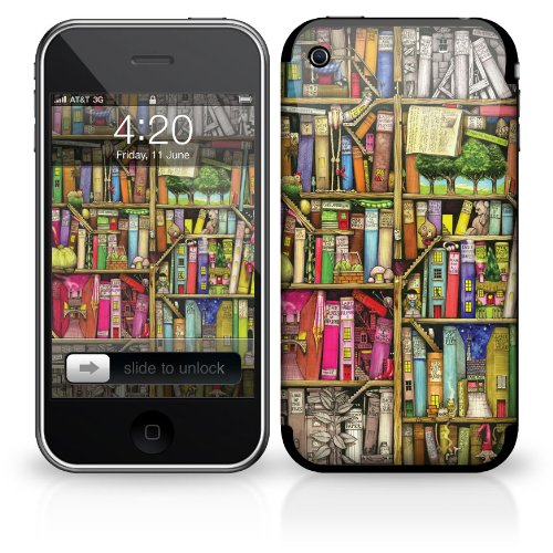 Skin für Apple iPhone 3G / 3GS - Bücherregal
