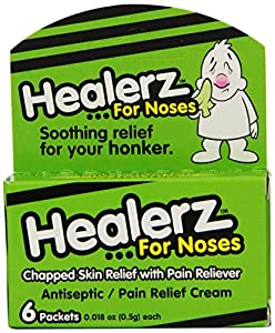 Healerz Pain Relief Cream for Noses, 6 Count (Pack of 6)