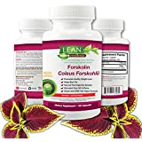 100% -120 Ct! 250mg - Pure 20% Forskolin Extract for Weight Loss - Natural Coleus Forskohlii - Veggie Capsules - Belly Buster for Fat Loss - Premium USA FDA GMP Supplement - LEAN Nutraceuticals