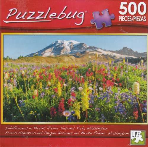 Puzzlebug 500 - Wildflowers in Mount Rainier National Park - 1