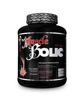 Bodystar MuscleBolic® Whey Masse Gainer Muskelaufbau, Eiweisspulver, 2000g Dose, Milk Chokolate