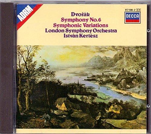 Dvorak: Symphony No. 6 / Symphonic Variations (Dvorak Symphonies Kertesz compare prices)
