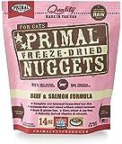 Primal Pet Foods Freeze-Dried Feline Beef and Salmon Formula
