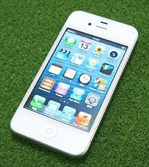 Apple iPhone 4 32GB ホワイト SoftBank 白ロム スマートフォン 携帯電話本体 標準セット