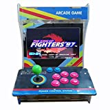 Tongmisi Pandoras Box 5s 1299 in 1 Arcade Fighting Game Machine 1 Joystcik Mini Games Console with 10 Inch Screen (1299 Games) (Color: Blue)