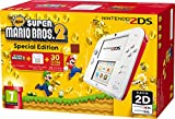 Nintendo Handheld Console 2DS - White/Red with New Super Mario Bros 2 (Nintendo 3DS)