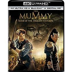 The Mummy: Tomb of the Dragon Emperor [4K Ultra HD + Blu-ray]