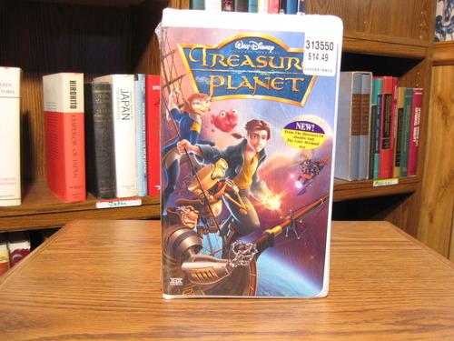 Amazoncom Customer reviews Treasure Planet VHS