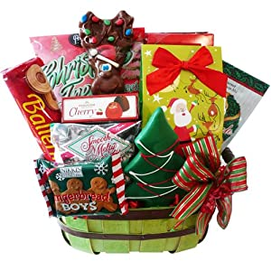 Good Cheer Christmas Holiday Gift Basket