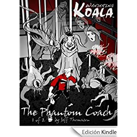 Wandering Koala rides The Phantom Coach comic 1