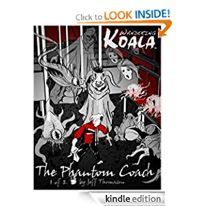 Wandering Koala rides The Phantom Coach comic 1 Jeff Thomason and Jeff Thomason ce