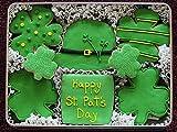 St. Patricks Day Gift Tin of Sugar Cookies