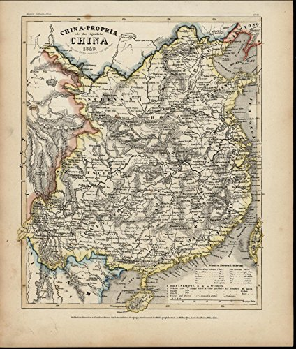 eastern-china-1849-meyer-scarce-antique-map