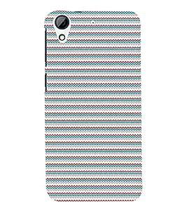Fuson Premium Multi Color Pattern Printed Hard Plastic Back Case Cover for HTC Desire 728