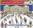 Alison Gardiner Traditional Advent Calendar: Christmas Ice Skating