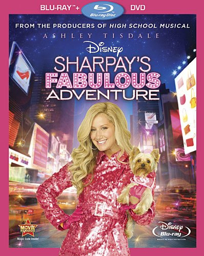 Cover art for  Sharpay's Fabulous Adventure (Two-Disc Blu-ray/DVD Combo)