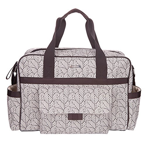 Allis-Baby-Nappy-Changing-Bag-Diaper-Bag-Tote-Leaf