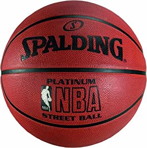 Spalding NBA Platinum Streetball  Ballon de basketball mixte adulte Orange 7